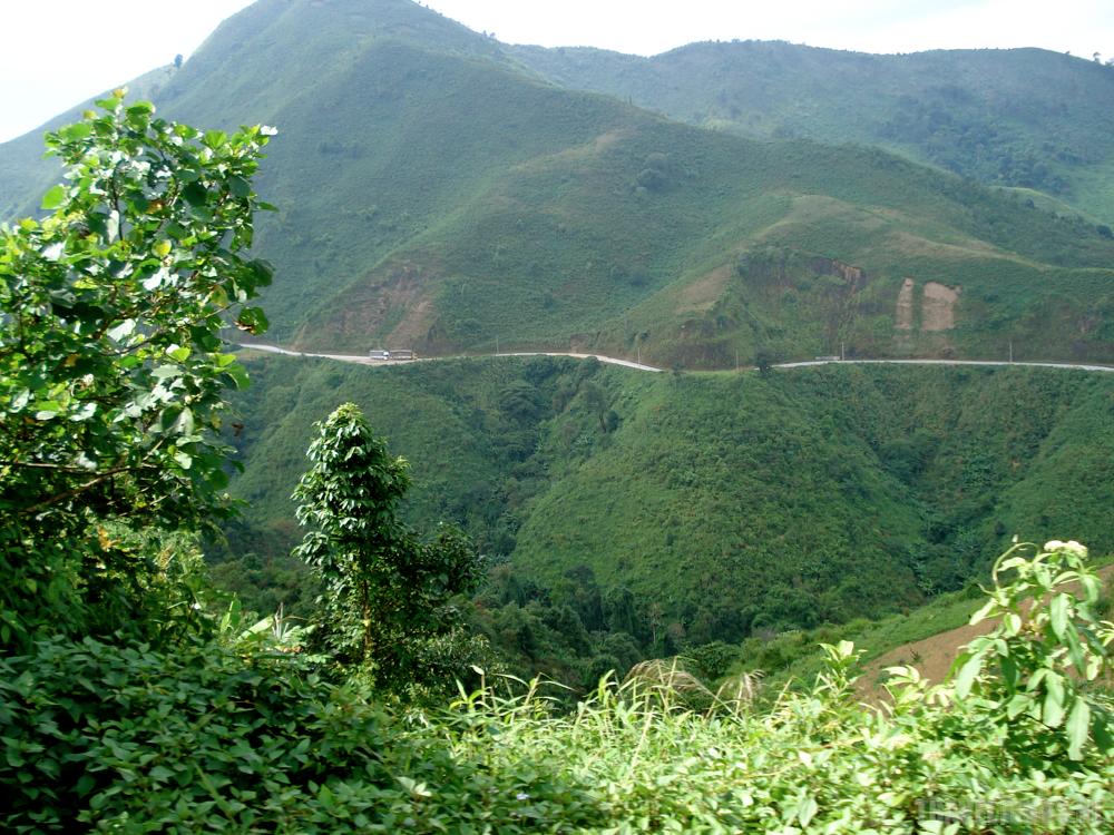 Laos mountains