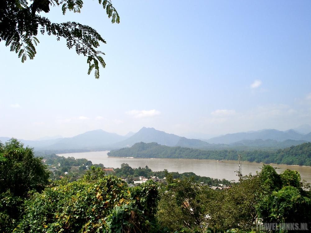 Luang Prabang Mekong view