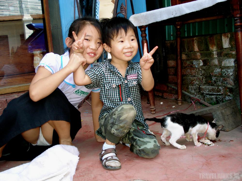 Luang Prabang kids