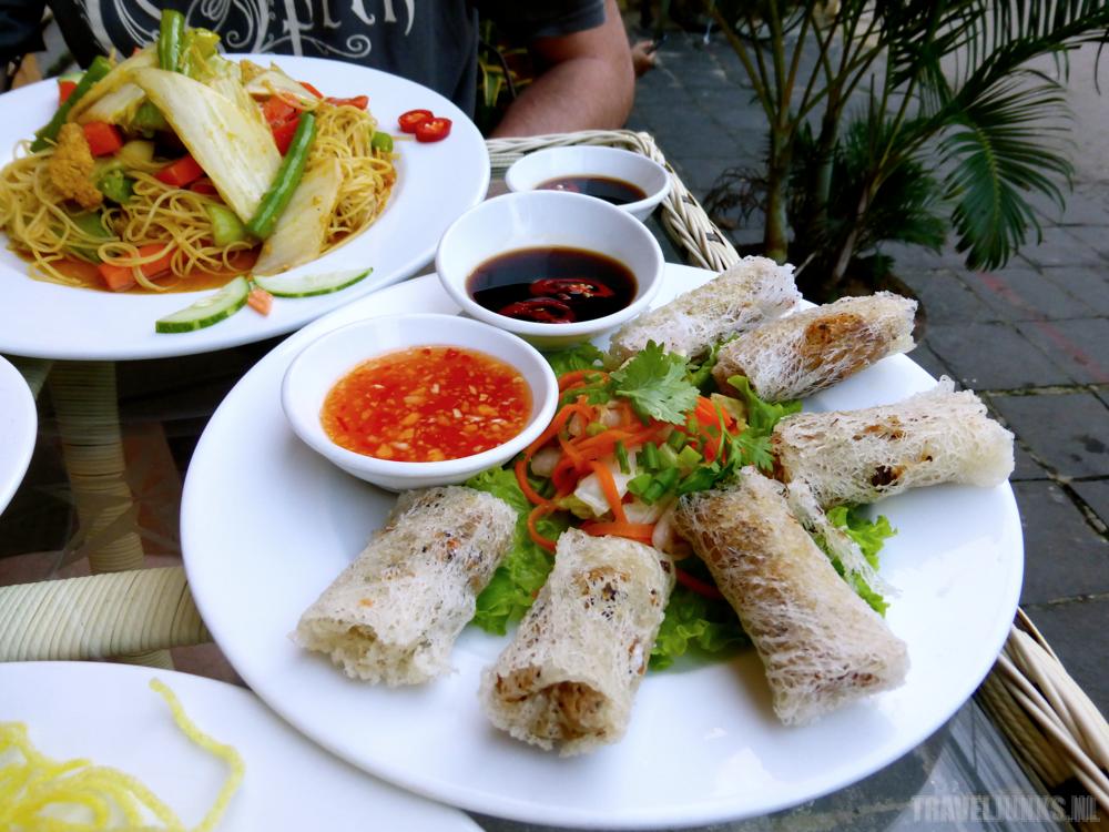Vietnamese food plate