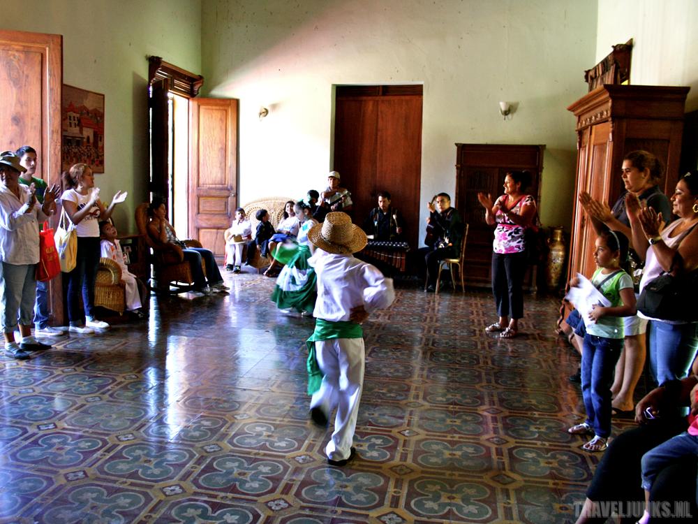 dansende kinderen masaya
