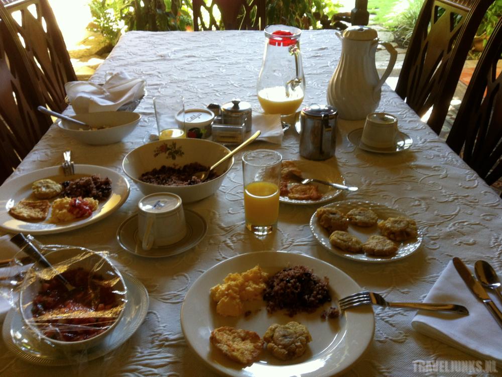 ontbijt casa robleto