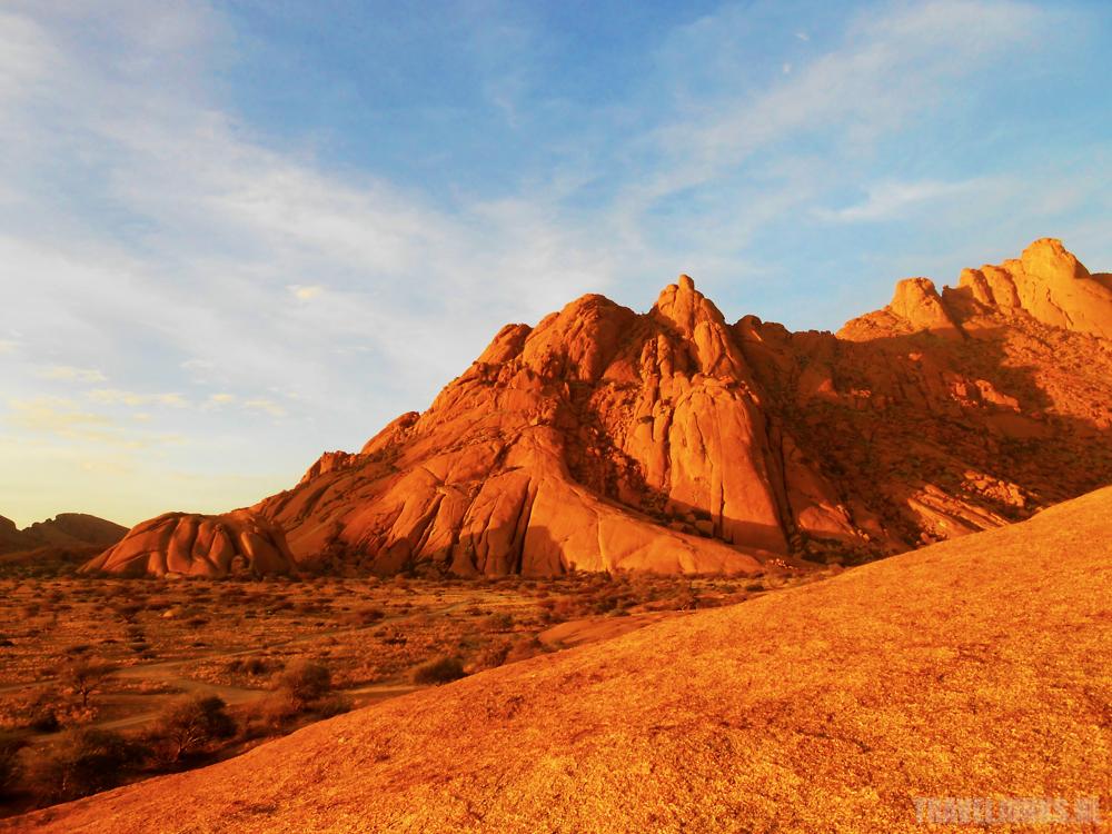 rode bergen namibie
