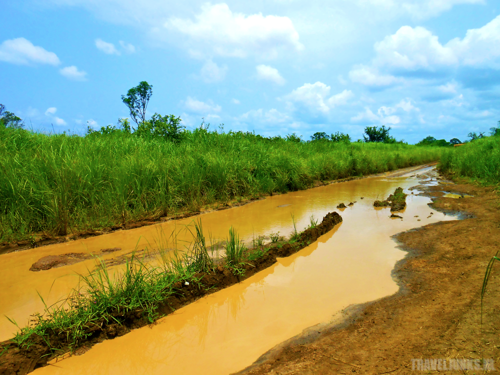 Congo road water