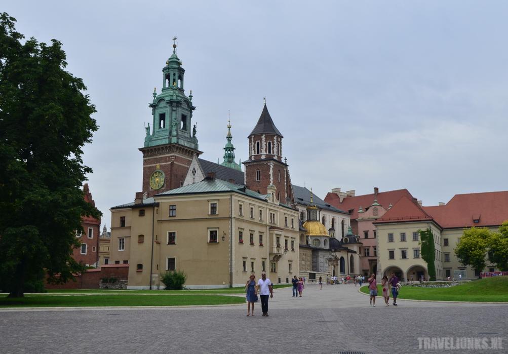 Krakau kasteel Wawel