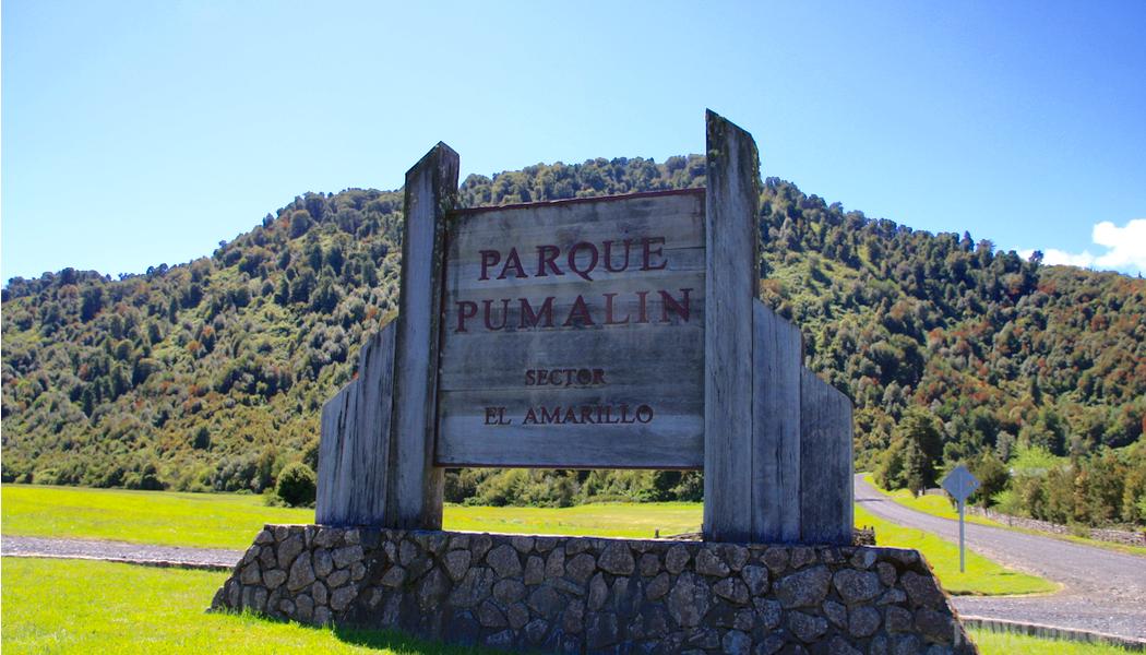 Pumalin entrance