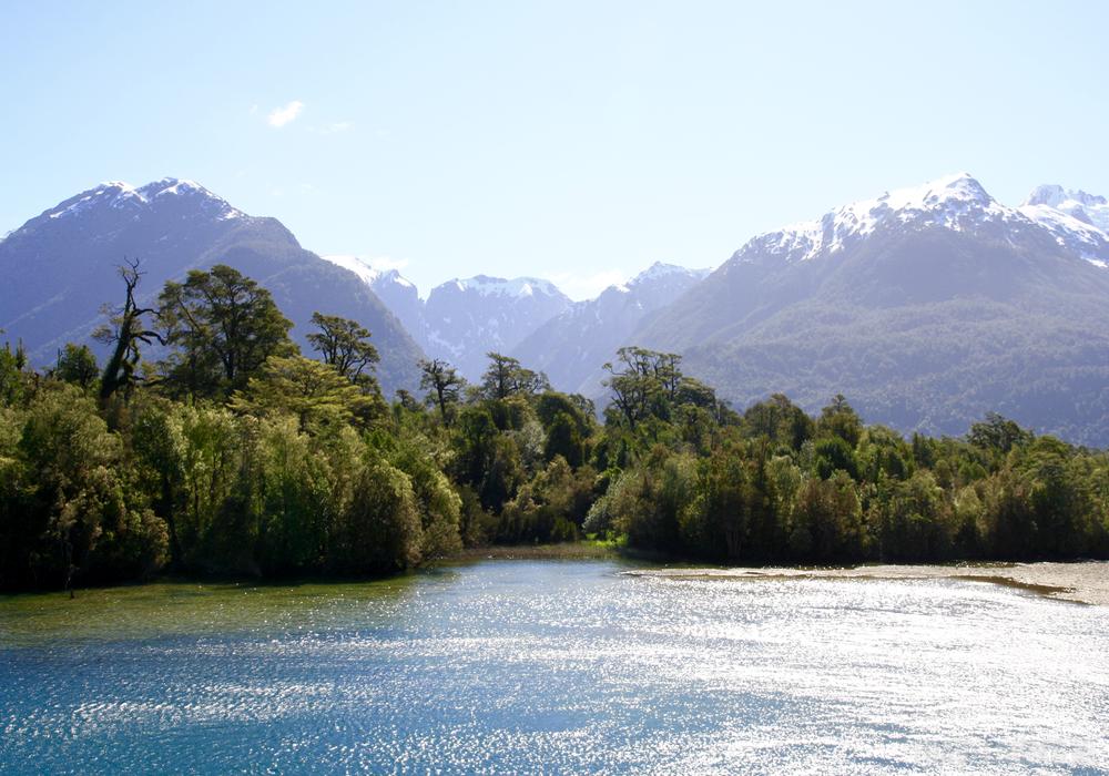 Pumalin river