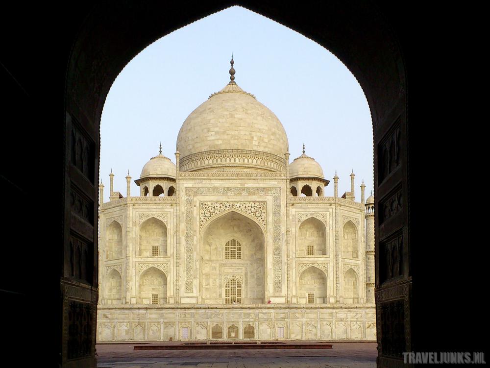 Taj-Mahal gate