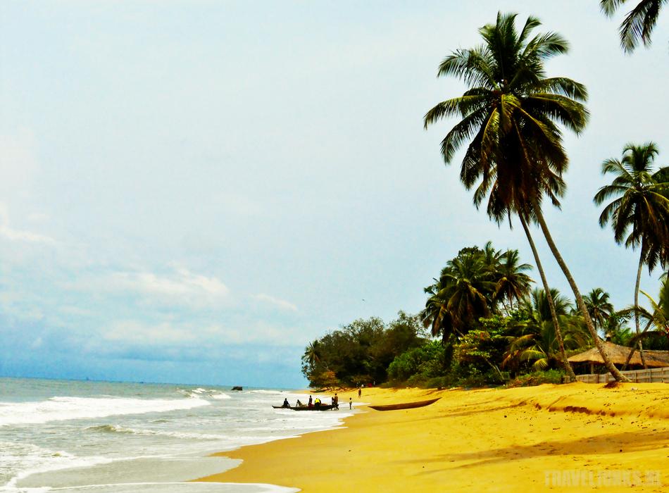 kameroen strand