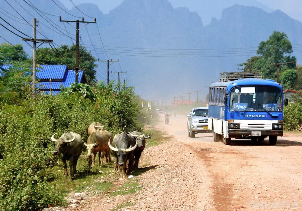 laos hoofdweg