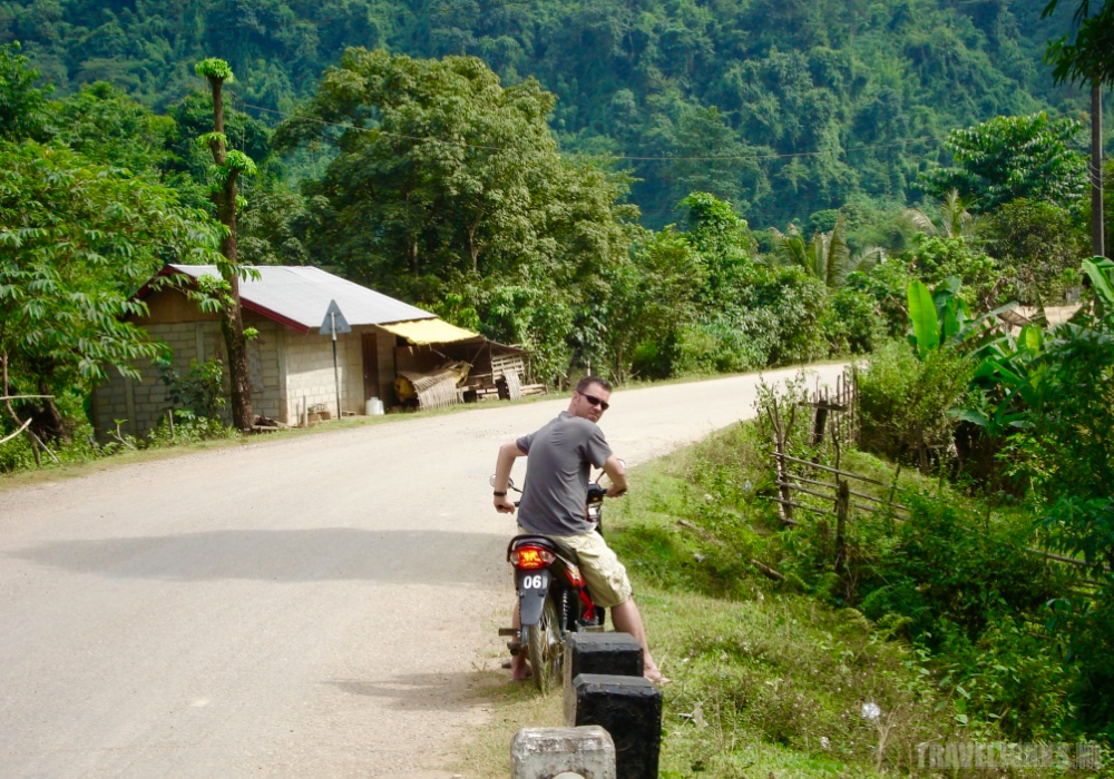 laos scooter