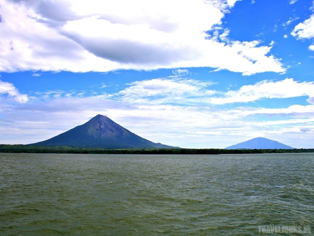 eiland Midden-Amerikaanse Nicaragua