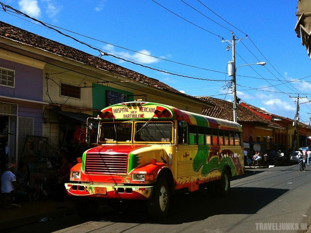 bus Midden-Amerikaanse Nicaragua