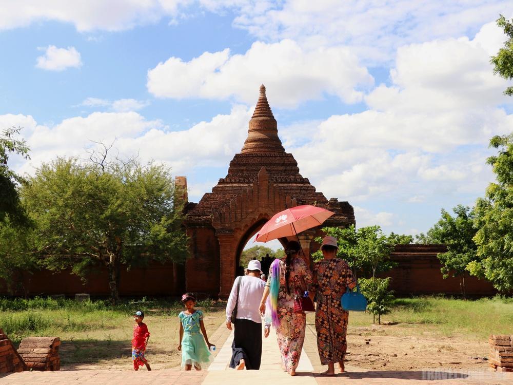 Tempelvallei Bagan Myanmar