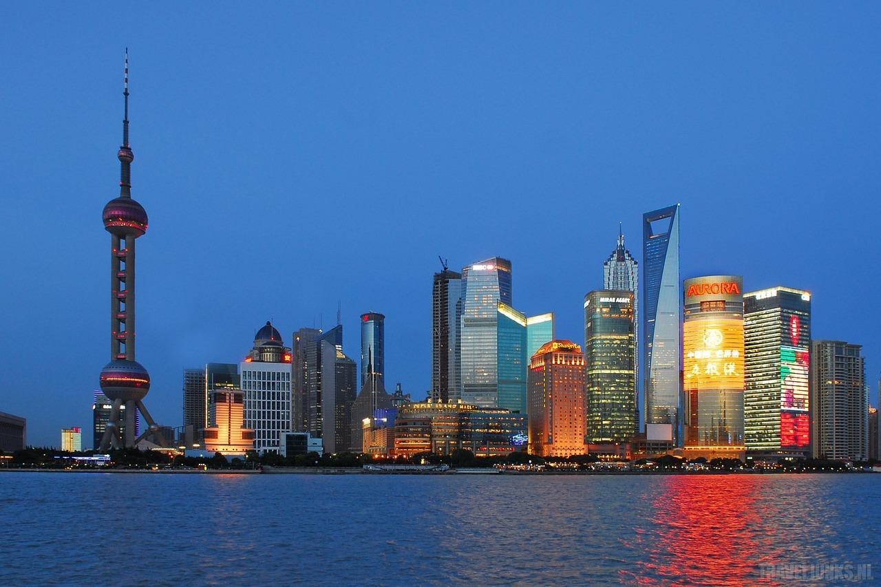 Shanghai metropolen