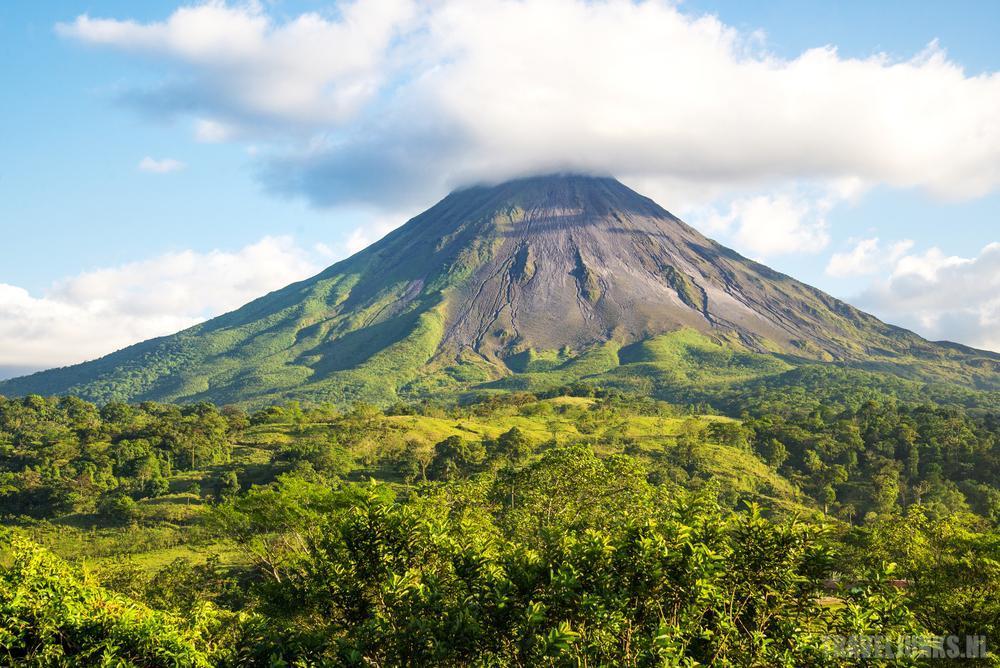 parken costa rica vulkaan