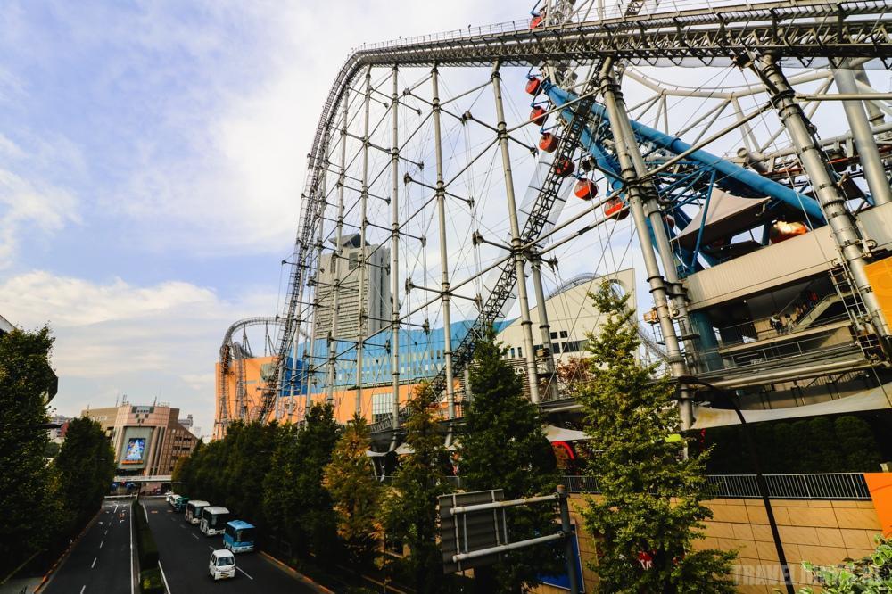 Tokyo rollercoaster