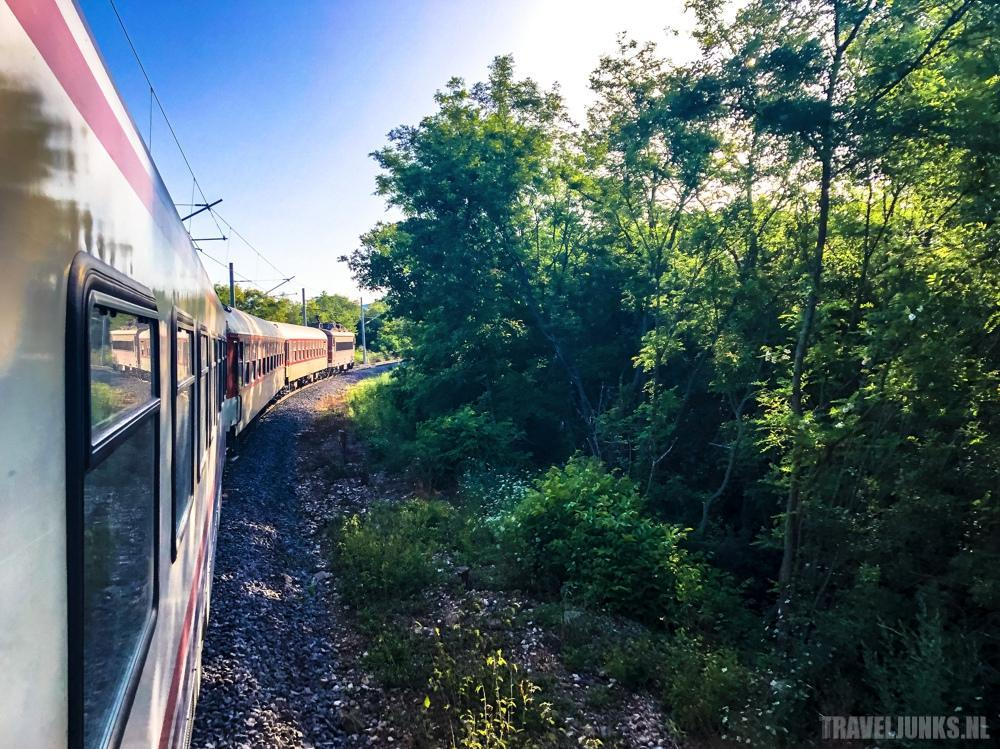 treinreis turkije