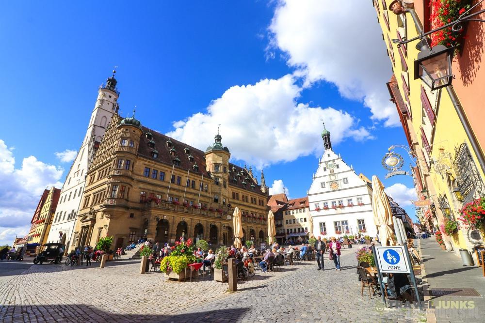 Marktplatz Duitse Rothenburg ob der Tauber