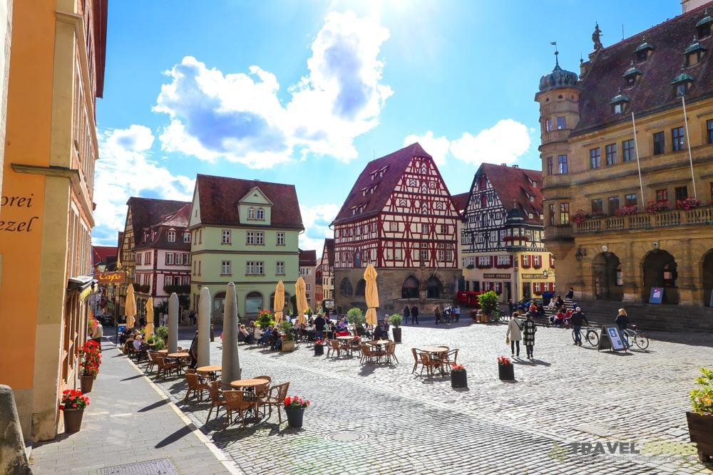 Rothenburg ob der Tauber terrassen