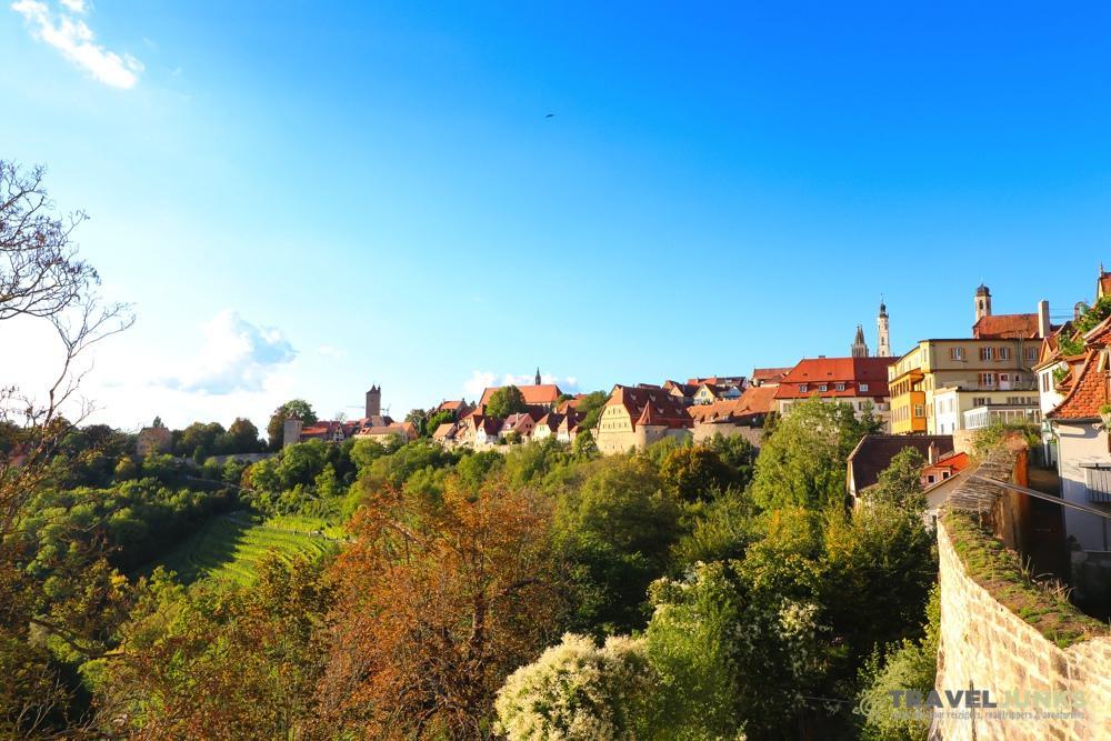 Stadsmuur Rothenburg ob der Tauber