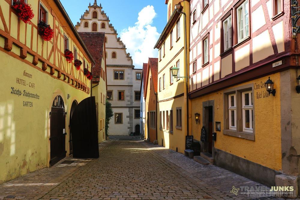 Duitse Vakwerkhuizen Rothenburg ob der Tauber