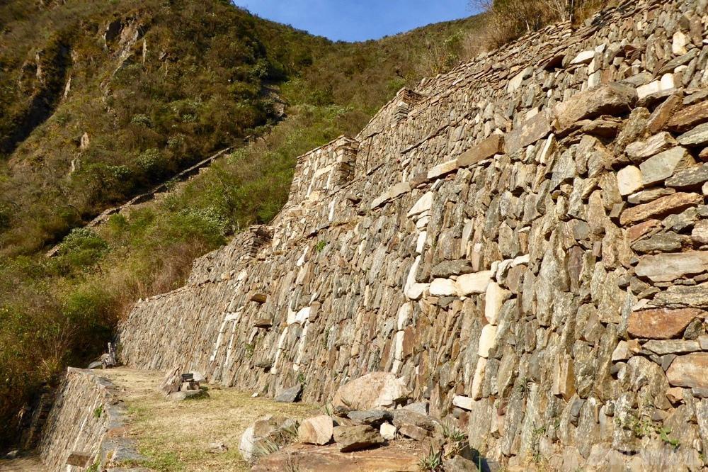 Incas tekeningen Choquequirao