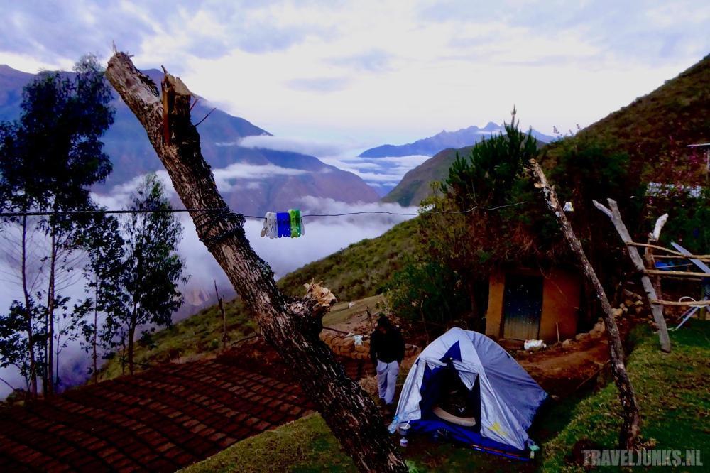 Peru campsite