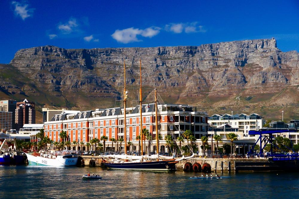 Tafelberg Zuid-Afrika